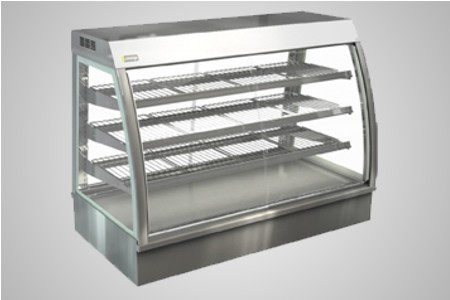 Cossiga counter series heated food display - Model CC5HT12