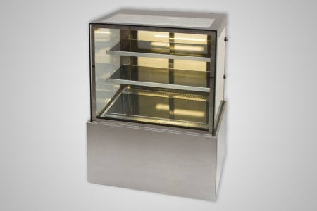 Anvil hot food display square profile 1200mm – Model DHV0740
