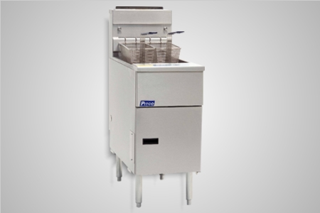 Pitco fryer single pan gas high performance - Model SG14S