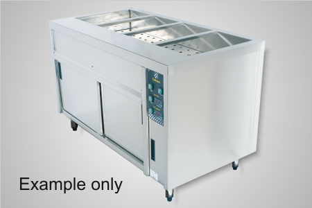 Culinaire bain marie hot cupboard 5 module - Model CBMH5.U