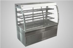 Cossiga curved refrigerated cabinet - Model CD5RF15