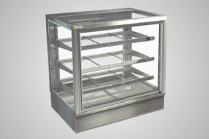 Cossiga counter square heated display - Model STGHT9