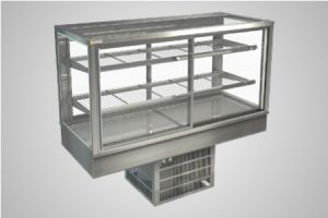 Cossiga counter square refrigerated display - Model STGRF15