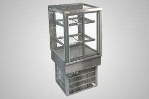 Cossiga counter square refrigerated display - Model STGRF6
