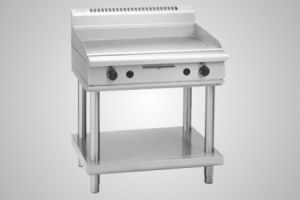 Waldorf griddle on leg stand - Model GP8900G-LS