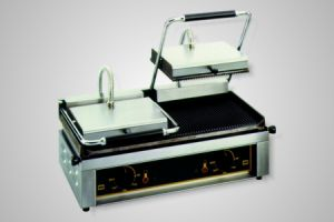 Roller Grill Contact Grill/High Speed Grill - Model Majestic-G (ribbed plates)