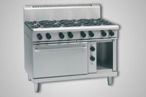 Waldorf 8 burner gas electric static oven - Model RN8810GE