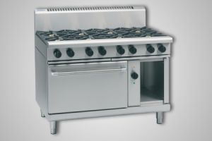 Waldorf 8 burner electric convection oven - Model RN8810GEC