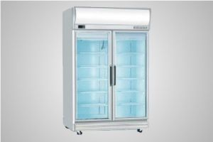 Bromic glass door fan forced freezer with lightbox 976 Litre - Model UF1000LF