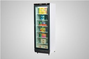 Bromic glass door static freezer 300 Litre - Model UF0374S LED