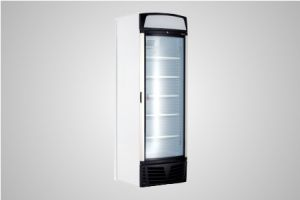 Bromic glass door static freezer with lightbox 450 Litre - Model UF0500LSC LED