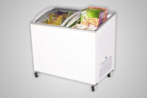 Bromic chest freezer angled glass top 264 litre - Model CF0300ATCG