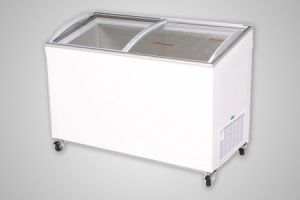 Bromic chest freezer angled glass top 352 litre - Model CF0400ATCG
