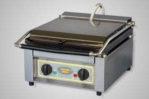 Roller Grill Contact Grill/High Speed Grill - Model Panini-XL-GF (flat bottom plate)